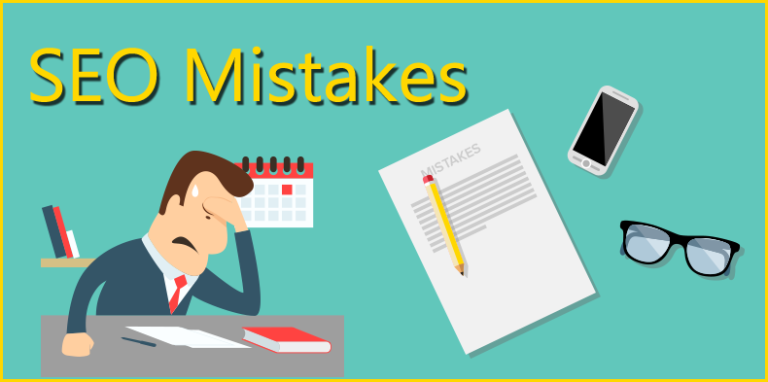 What are the mistakes we should avoid during performing SEO?