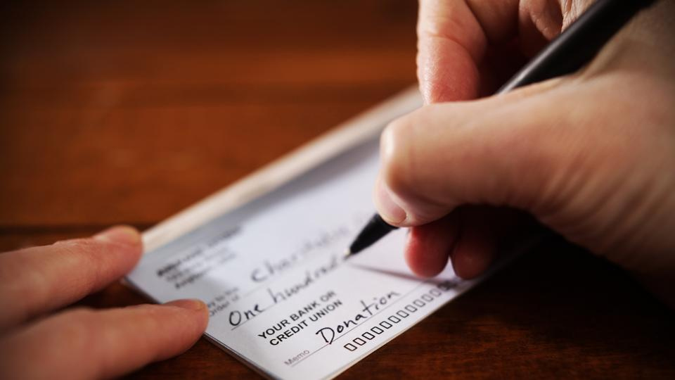 Write Check Without Cents